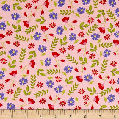 Penny Rose Meadow Sweets Floral Pink