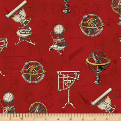 Galileo Astronomy Red