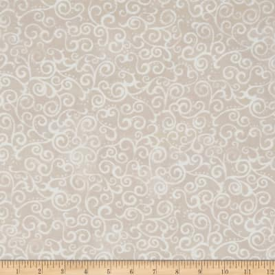 "QT Fabrics 108"" Wide Quilt Back Ombre Scroll Crystal"