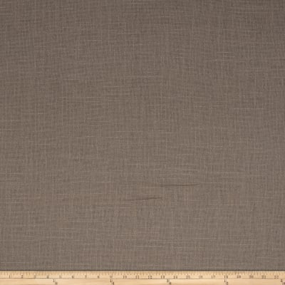 French General Cassis Basketweave Linen Hemp