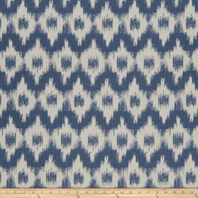 French General Flamme De France Woven Indigo