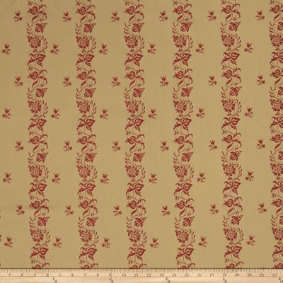 French General Maison Gabrielle Jacquard Rouge