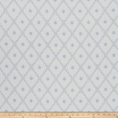 French General Paquerette Jacquard Bleu