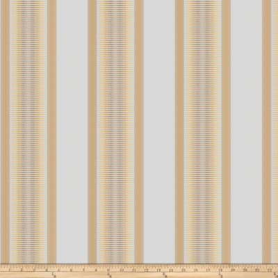 Kendall Wilkinson Sunbrella Indoor/Outdoor Jacquard Sunset Stripe Daffodil