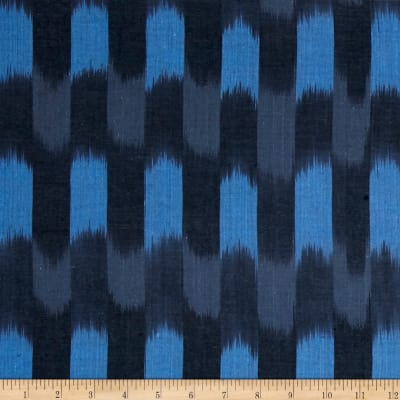 Andover Dream Weaves Ikat Patch Navy