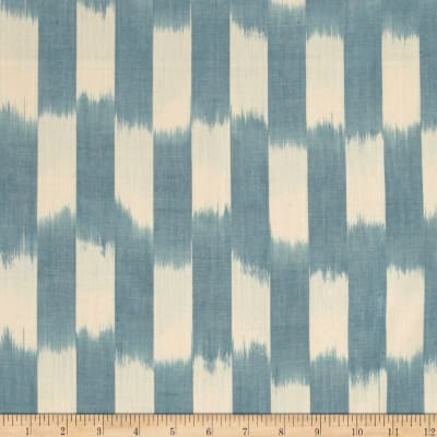 Andover Dream Weaves Ikat Patch Blue White