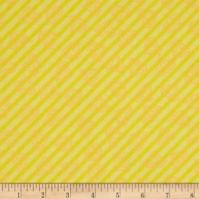 Tattooed Gem Stripe Yellow