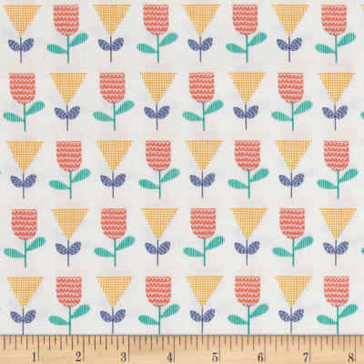Andover Floral Splendor 50's Floral Yellow