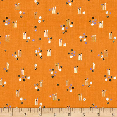 Andover Floral Splendor Meadow Orange