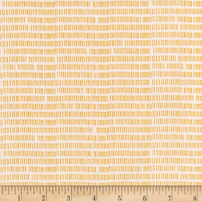 Andover Floral Splendor Stripes Yellow