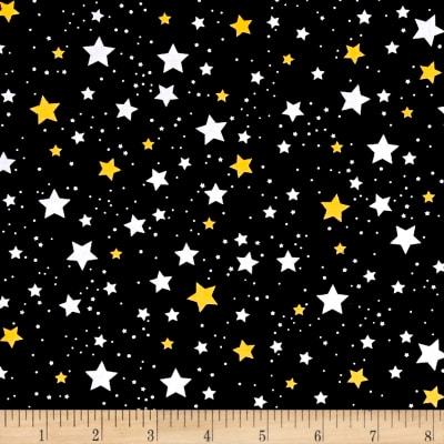 Kaufman Space Explorers Stars Black
