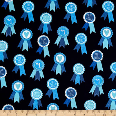 Kaufman Classy Canines Medals Blue