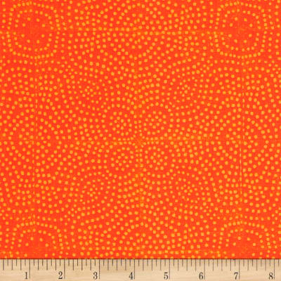 Kaufman Jasmine by Valori Wells Geo Orange Spice