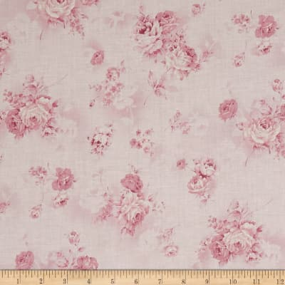 Kaufman Margeaux Flower Spray Pink