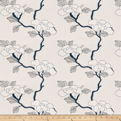 Mount Vernon Asian Floral Linen Porcelain