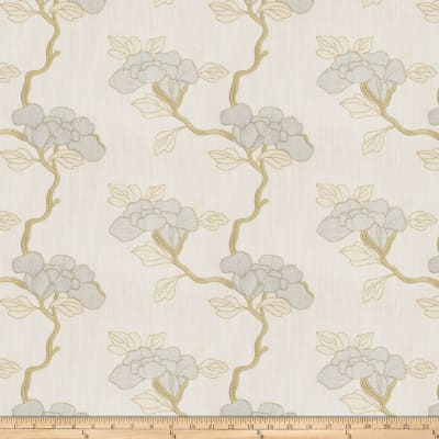 Mount Vernon Asian Floral Linen Stream