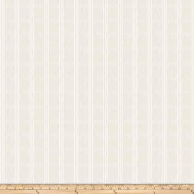 Fabricut Cannetella Faux Linen Sheer Stripe Ivory