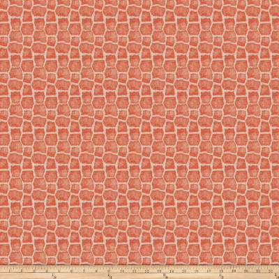 Charlotte Moss Capetown Linen Coral