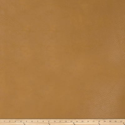 Fabricut Koala Faux Leather Saffron