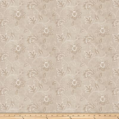 Charlotte Moss Ripoli Embroidered Linen Canvas