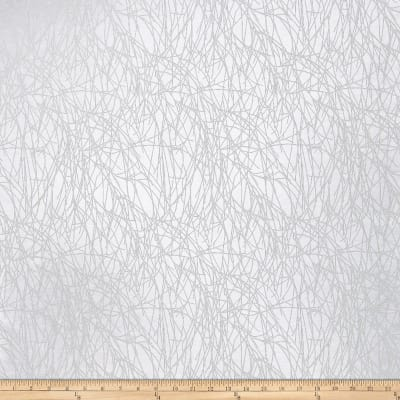 Fabricut Roland Sheer Branches White