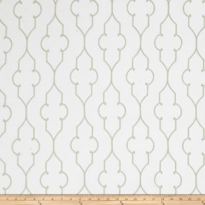 Fabricut Sevenson Embroidered Linen Grey