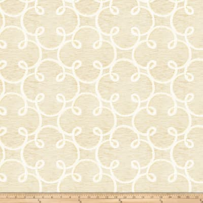 Fabricut Sugarplum Gold Cream