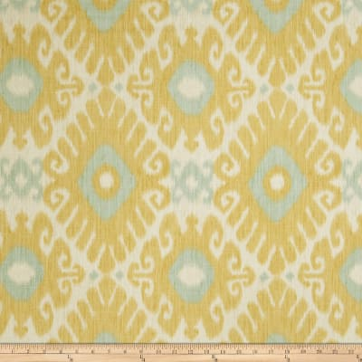Jaclyn Smith 02606 Linen Blend Lemon Zest