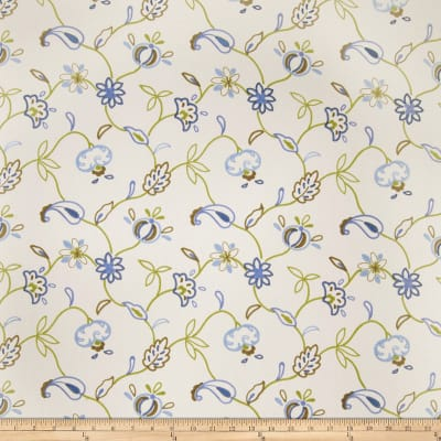 Jaclyn Smith 02609 Embroidered Duck Indigo