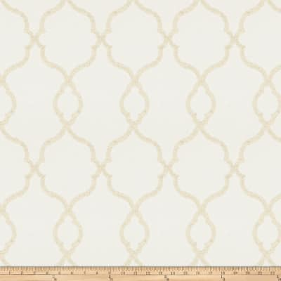 Trend 03026 Faux Linen Sheer Ivory