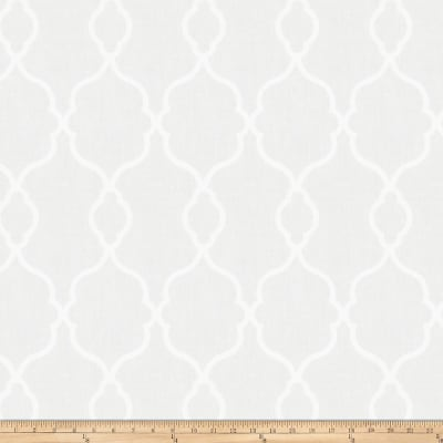 Trend 03026 Faux Linen Sheer White