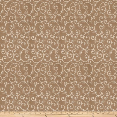 Trend 03242 Shantung Scroll Taupe