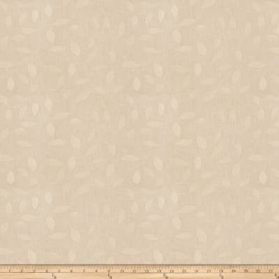 Trend 03248 Faux Linen Leaves Parchment