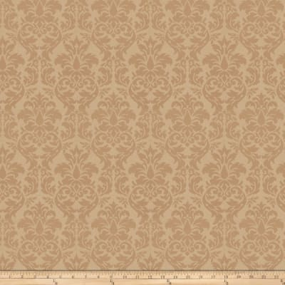 Trend 03483 Satin Jacquard Damask Buff
