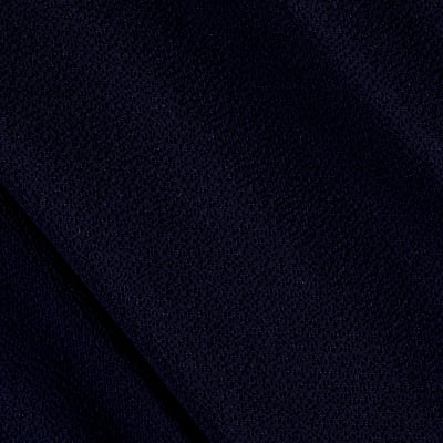 Fabric Merchants Bubble Crepe Solid Navy Blue