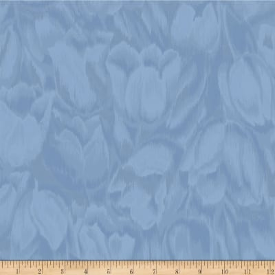 Jinny Beyer Burano Tulips Blue