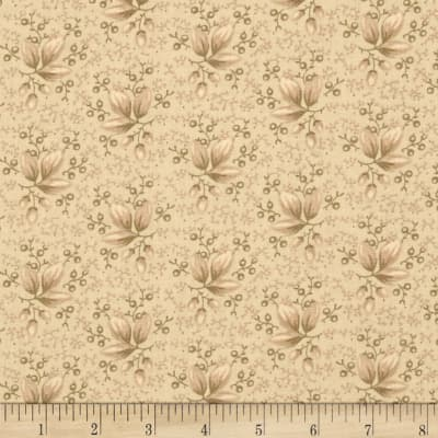 "108"" King Quilt Backs Buds Tan"