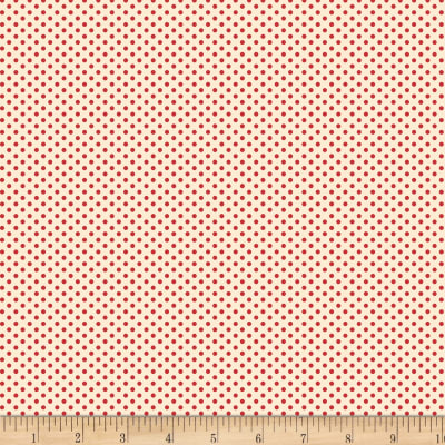 Back Porch Basics Dots Red/Ivory