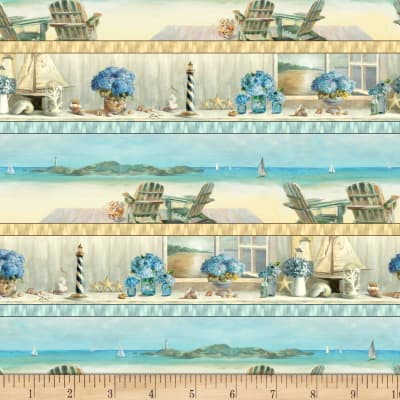 Coastal Bliss Repeating Stripe Multi