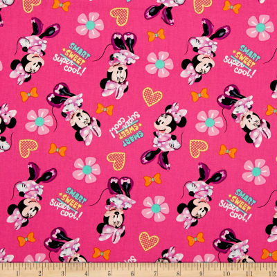 Disney Minnie Pink Smart + Sweet = Super Cool! Pink