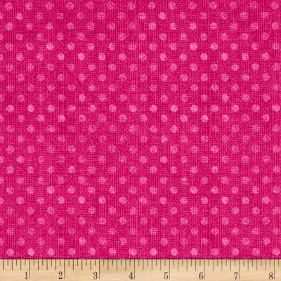 "Essential 108"" Backing Dotsy Magenta"