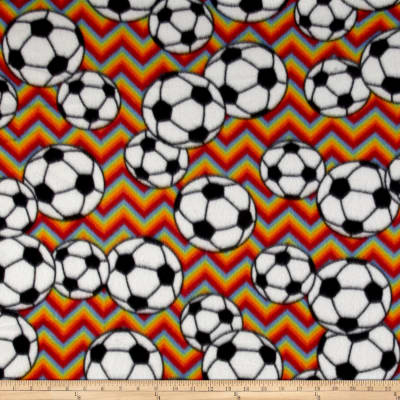 Fleece Chevron Soccer Primary