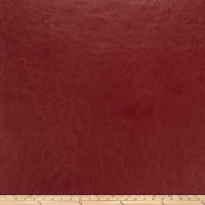 Fabricut Bridgewater Faux Leather Claret