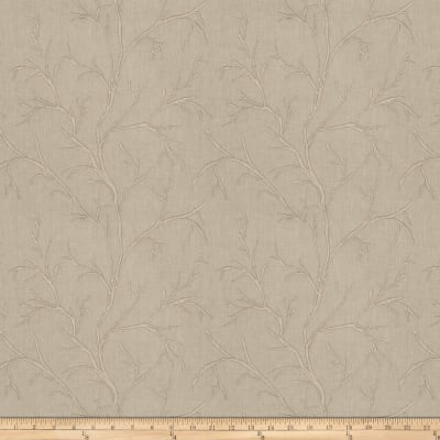Fabricut Catla Branch Embroidered Glaze