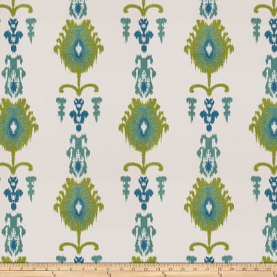 Fabricut Counterattack Embroidered Caribbean