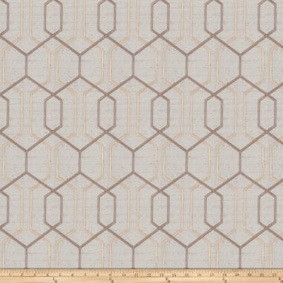 Fabricut Crosswise Embroidered Opal