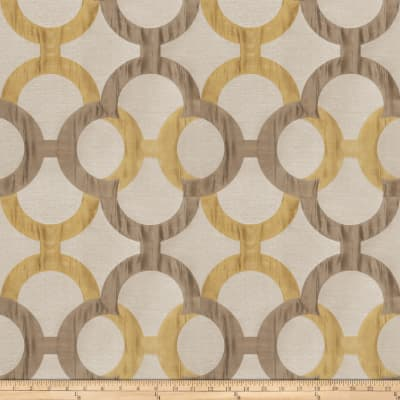 Fabricut Diego Lattice Jacquard Olive