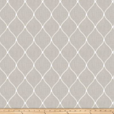 Fabricut Engine Ogee Linen Blend Flint