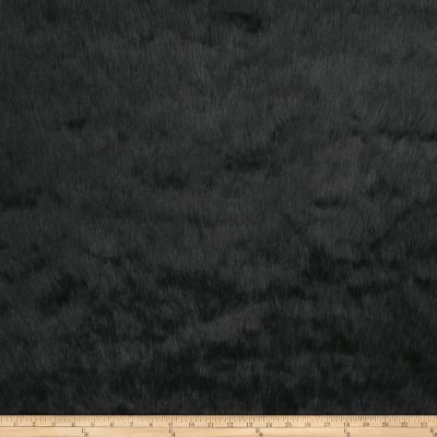 Fabricut Full Fur Faux Fur Black