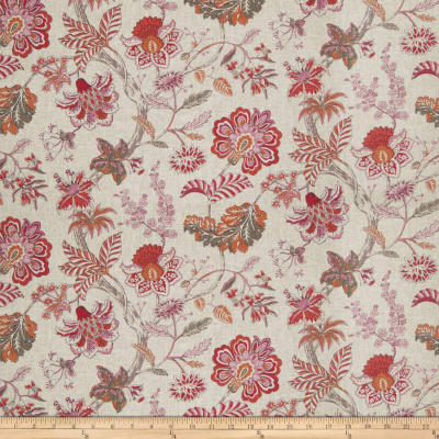 Fabricut Hadfield Floral Papaya